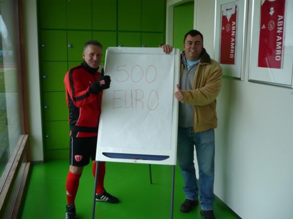 Donatie Ajax Supportersclub