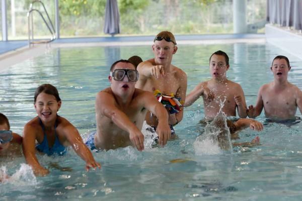 Zwemclinic Daan Glorie