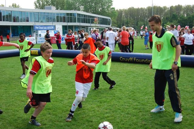 Voetballen met Ajax