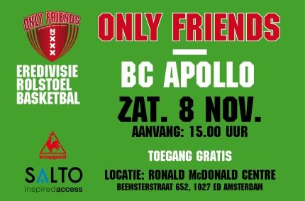Basketbal poster 8 nov liggend