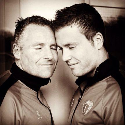 Dennis en Myron