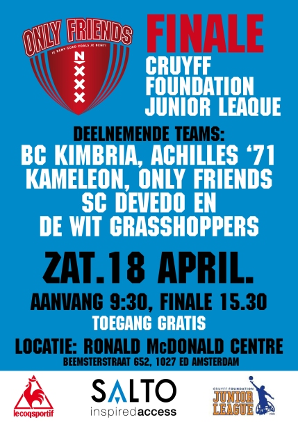 Basketbal finale 18 april DEFF2