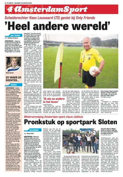 Kees Louwaard in Amsterdam Sport 4